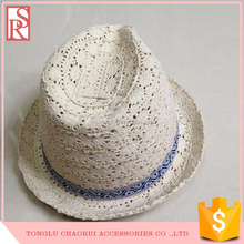 Children Solid Straw hats Panama Fedora hat for children adult Summer beach cowboy kids jazz caps