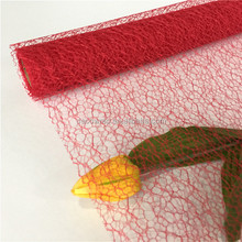 Irregular Poly Deco Mesh For Disposable Table Runner,Chair Covers