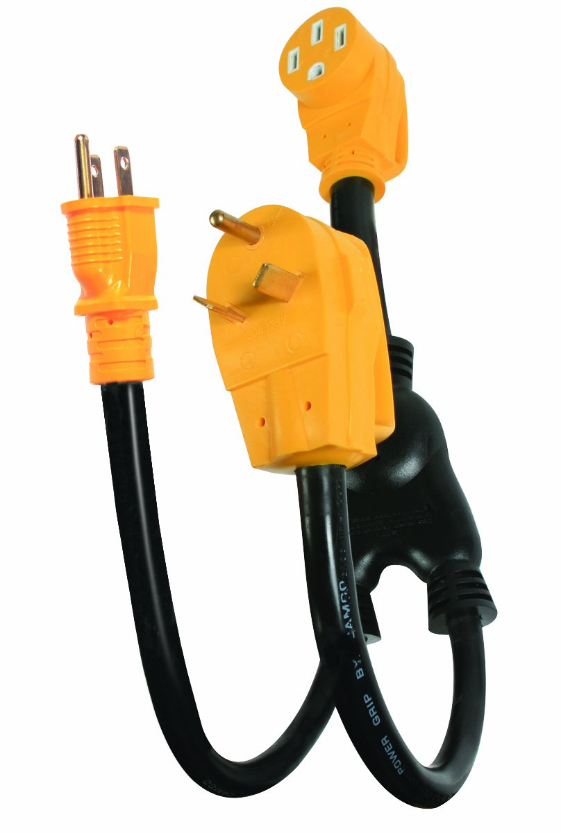 Buy Camco 55525 50 30 Amp Power Grip Extension Cord With 90 Degree Locking Adapter In Cheap Price On Alibaba Com