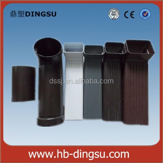 Profesional de metal accesorios de tubo de bajada canal n - Canalon aluminio precio ...