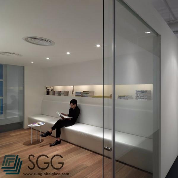 Office Deur/badkamer Deur Frameloze Gehard Glas Panelen Prijs - Buy ...