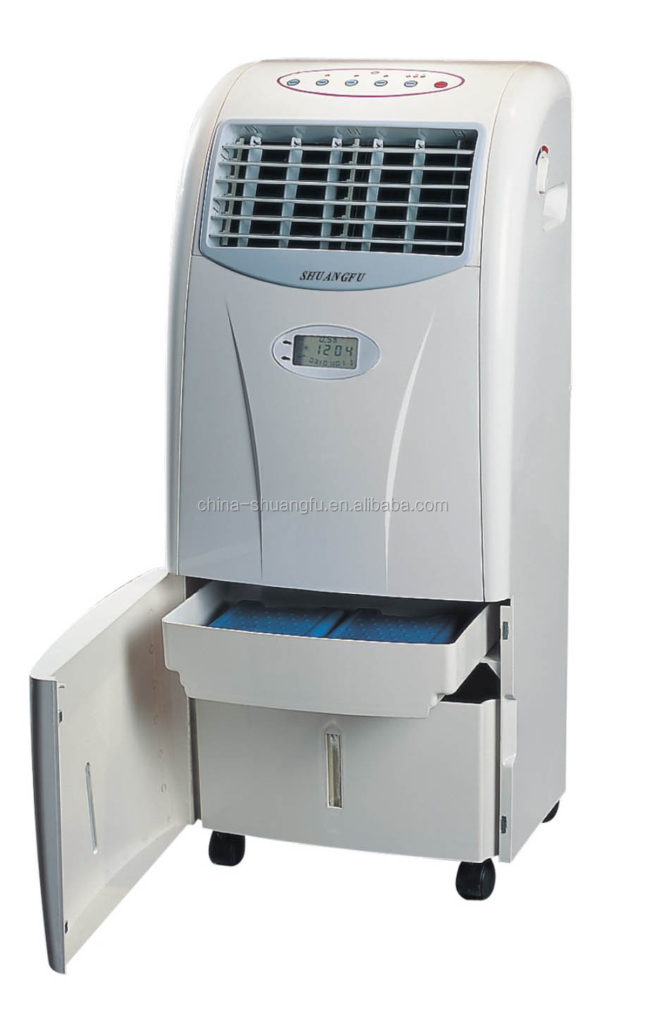 Air Cooler Fan : Electric water evaporative air cooler portable