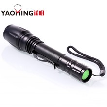 1000 Lumens XM-L T6 LED Flashlights Rechargeable LED Torch With 2*18650 Battery High Brightness LED Lights YM-T6G-2