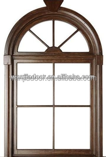 Aluminum Fixed Arch Top Window