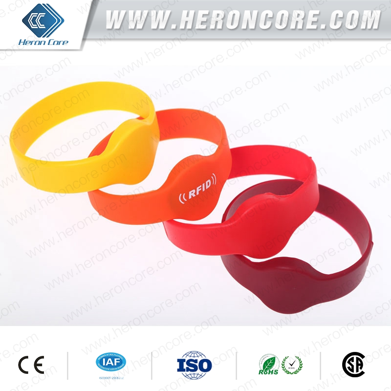 Rfid Chip Tag Security Electronic Custom Shape Silicone Bracelets ...