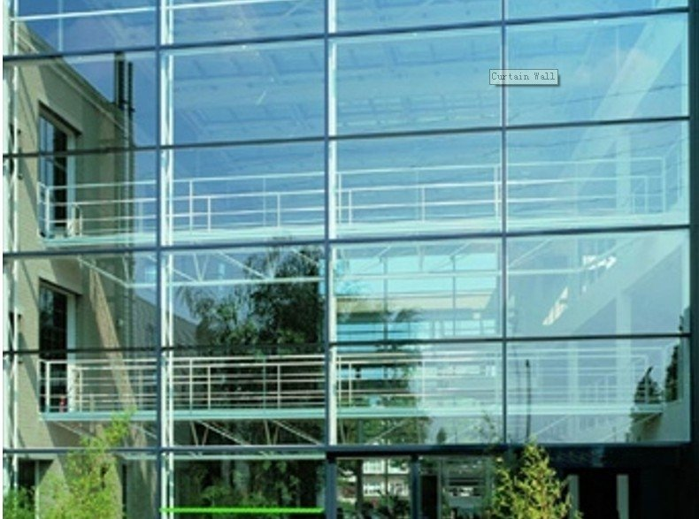 Curtain Wall Glass - Buy Building Glass Product on Alibaba.com