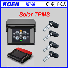 Hot sale 5 Years Battery Wireless TPMS Solar Display Interior Sensor, caska TPMS