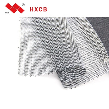 100 % Polyester Clothing Textiles Thick Interfacing Interlining For Shirt
