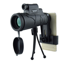Made In Vietnam Powerful 12x50 HD outdoor monocular telescope with Laser sight+tripod+clip for night vision hunting