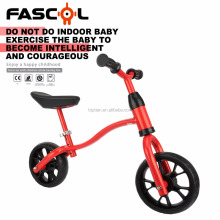 Fascol Portable Adjustable Aluminum Frame Outdoor Sports 2 Wheel Red Kids Balance Bike Bicycle For 2-6 Years Old Baby Wholesale