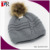 Winter Warm Unisex Knitted Pom Pom Ski hat beanie hat Wholesale