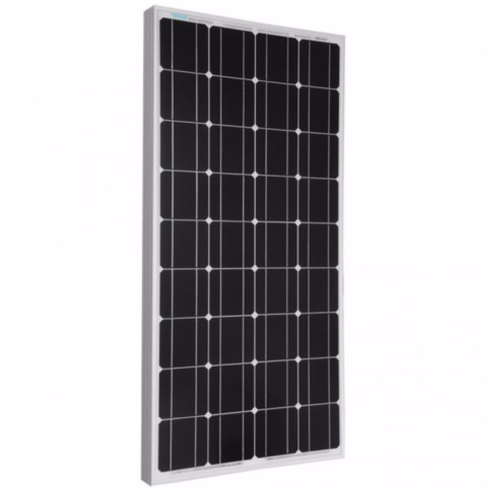 Best price high efficiency solar cell 100W monocrystalline PV solar panel price