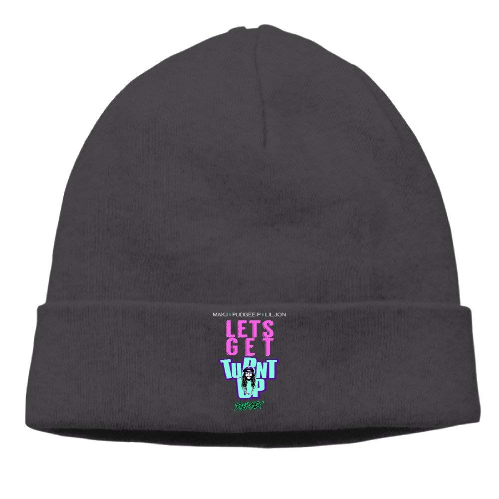 82f00720657 Get Quotations · Lil Jon - Lets Get Turnt Up Cap Hipster Beanie Beanie Hat