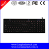 USB Medical Grade washable silicone keyboard with backlight