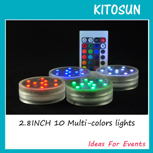 Party Decorations Submersible 2.8inch Led Light Base For Adapter ...