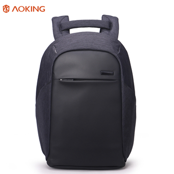 Aoking 19inch Anti Theft School Outdoor Massage Smart Laptop Backpack Knapsack Bag For
