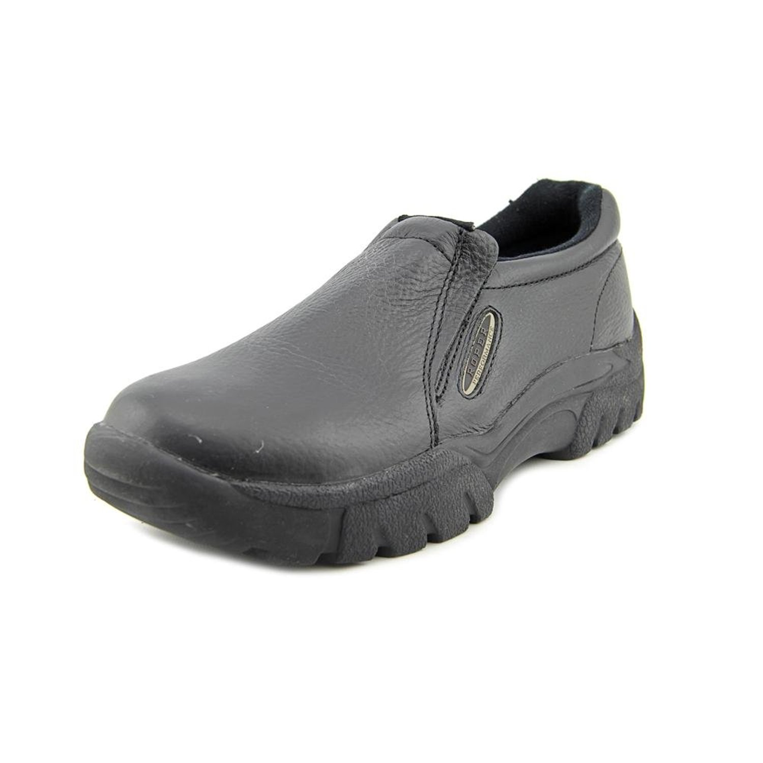 Roper Men's Performance Smooth Leather Slip-On Shoes Round Toe