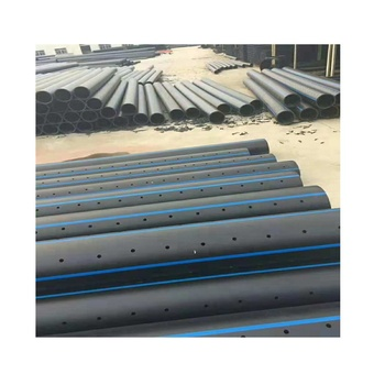 2 inch perforated drain pipes hdpe pipe for drainage water supply