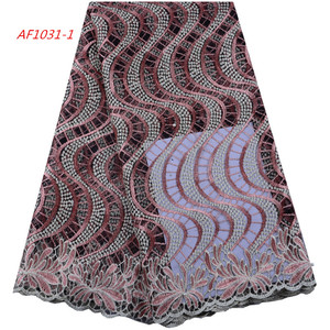 2019 Nigerian Lace Embroidery Lace Ribbon Lace Fabric On Sale 1442