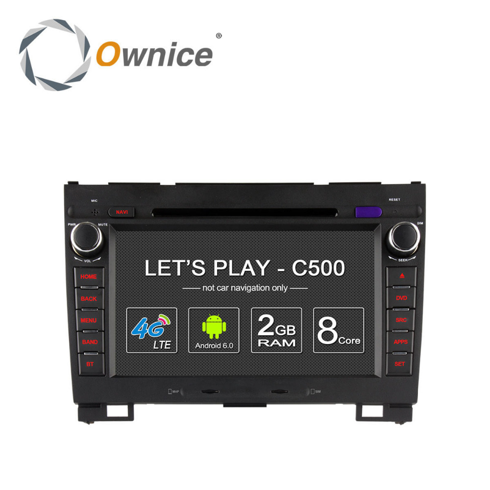 Ownice C500 Android 6.0 Octa core car DVD for Great Wall Haval H3 H5 support DVR <strong>TV</strong> 4G LTE DAB+ Tunner