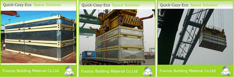 EPS Neopor Energy Effective Demountable Conex Boxes for Sale