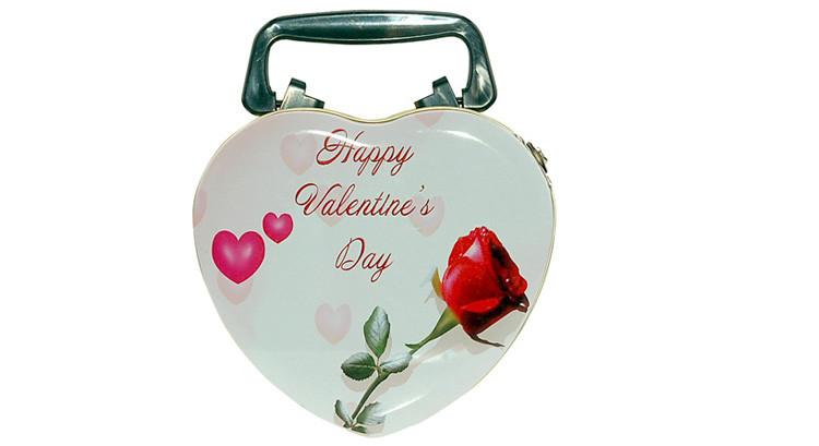 Día De San Valentín Para Colorear Galletas De Chocolate De Embalaje ...