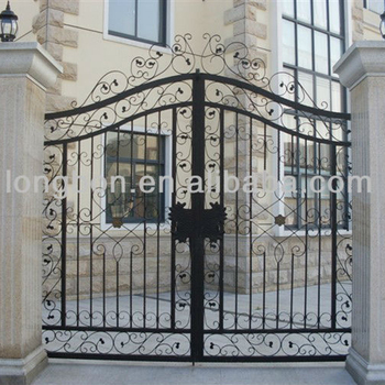 2017 Top Selling Iron Main Entrance Doors Grill Design