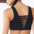 Custom Logo Ladder Cutout Front & Back Sexy Sports Bra Top Fitness Yoga Bra