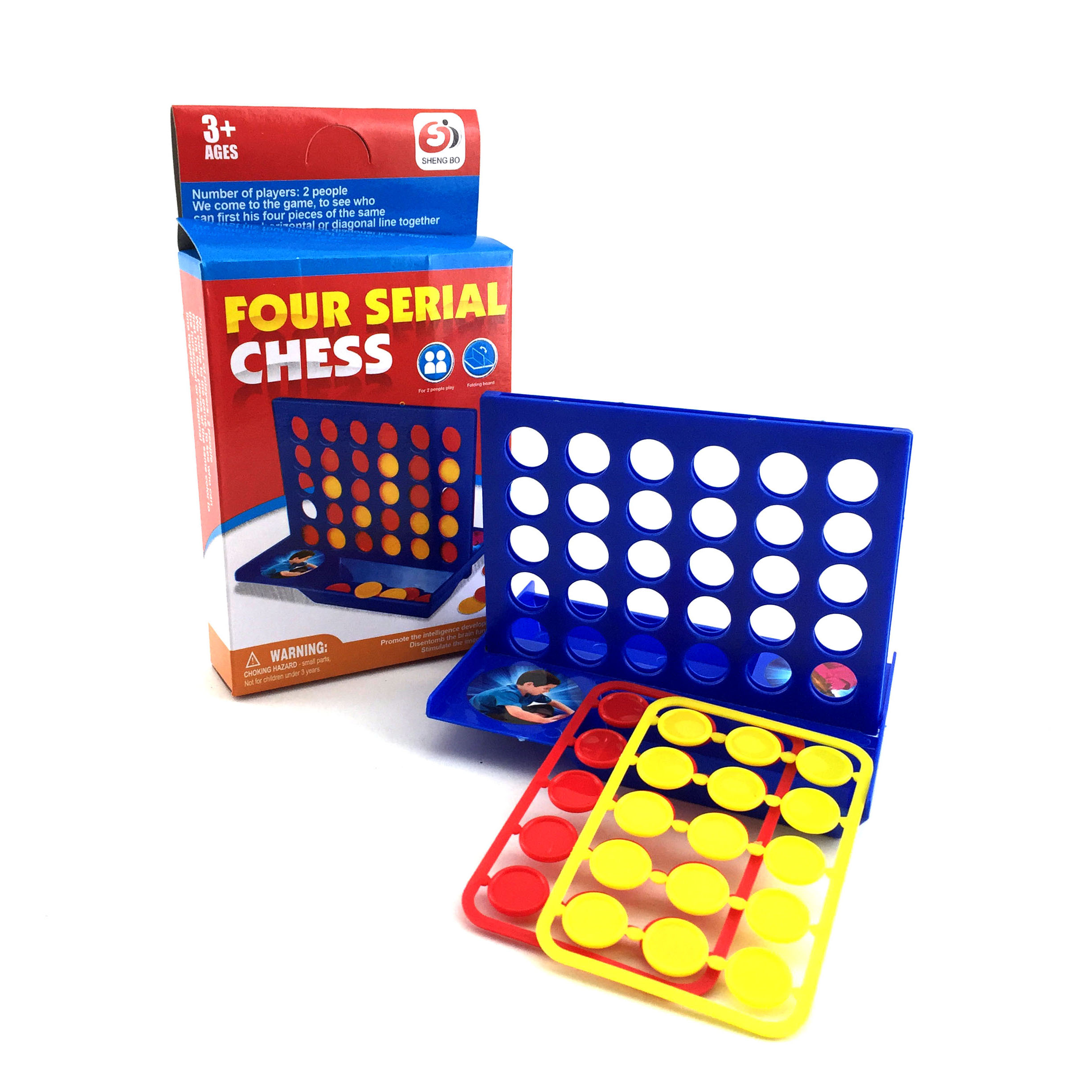 Travel portable toy 4 connect in a row set intelligence game chess play chess game now