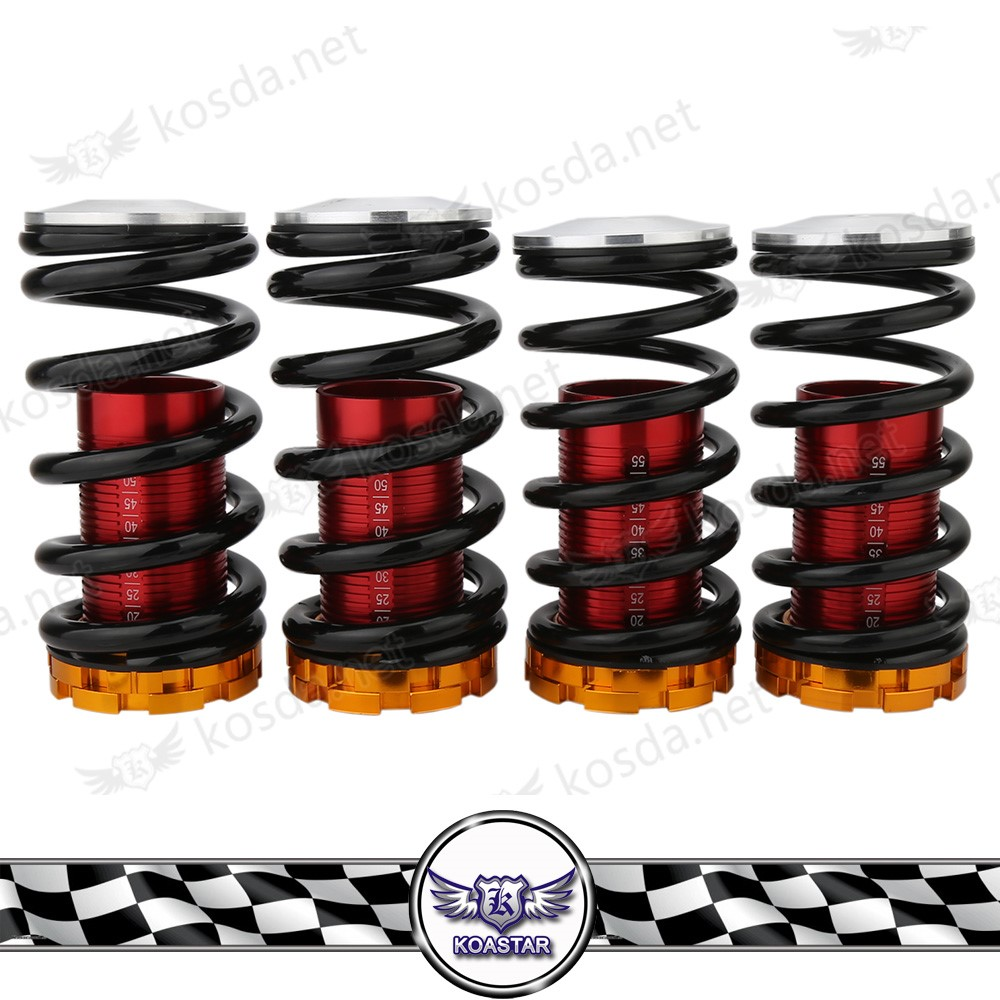 Coilovers Blue Suspension Set 1994-2001 Integra Black Sleeve NeoChrome TopHat