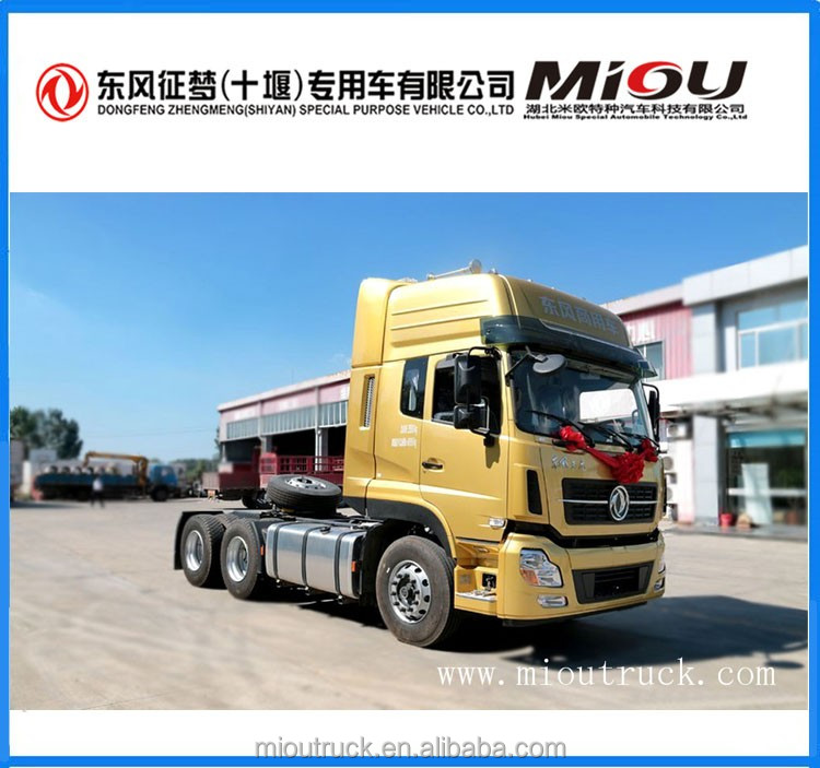 Dongfeng 4x2 340hp tractor pulling truck for sale