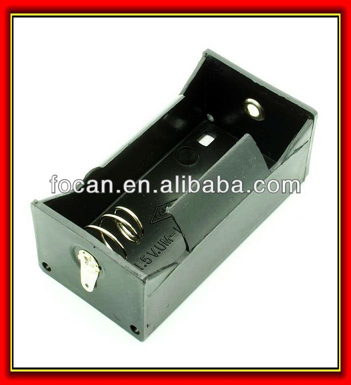 "One""d"" Cell Battery Holder,Um-1 Battery Box,Bh111 Battery Holder ..."