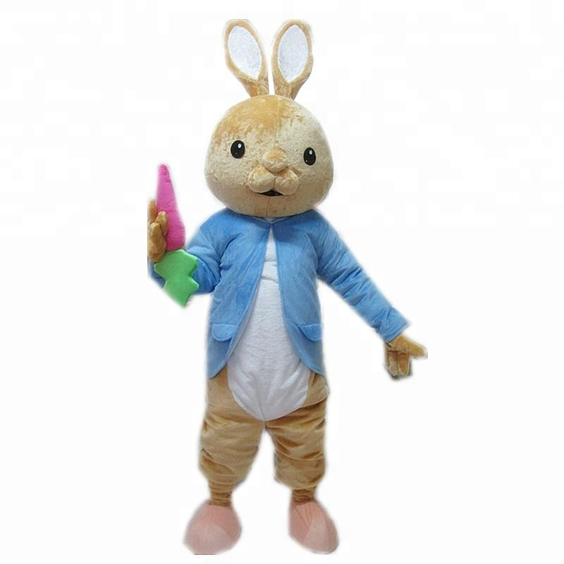 2020 Peter Easter Bunny Mascot Costume Rabbit Cartoon Dress Outfits Adult 1