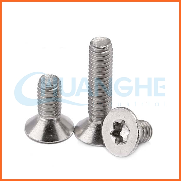 Wholesale Torx Countersunk Head Screw M3 M4 M5 M6 M8 M10 M12