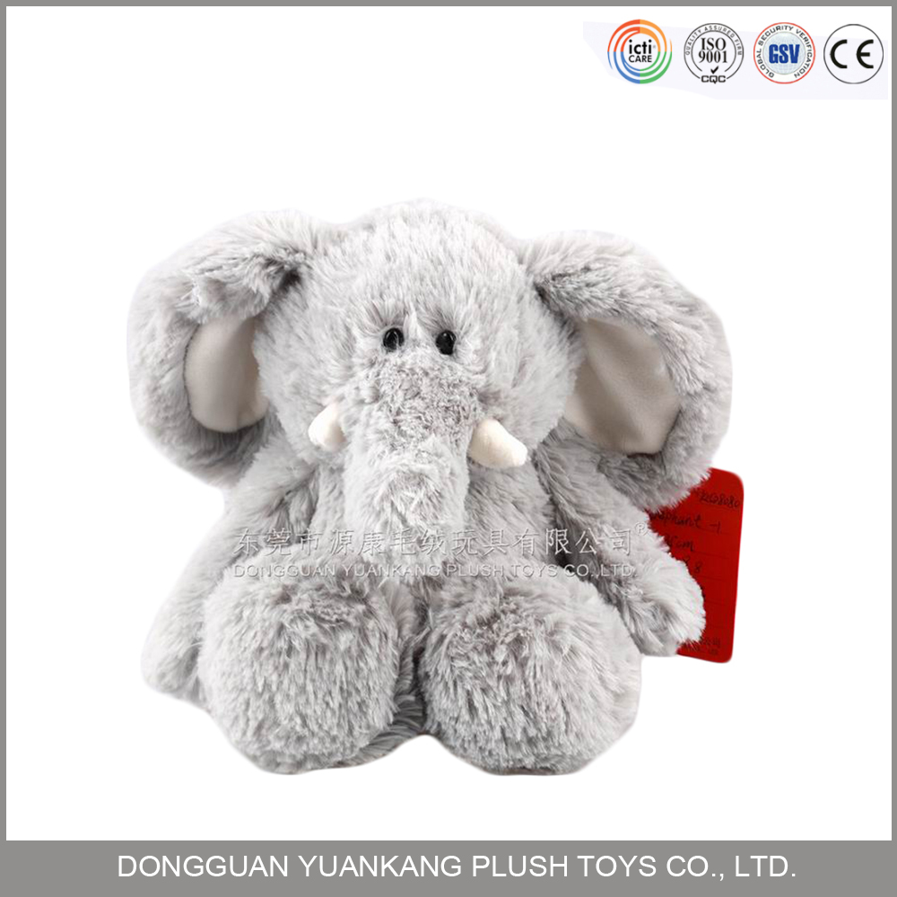 Wholesale Grey plush elephant toy stuffed elephant toys with big ears