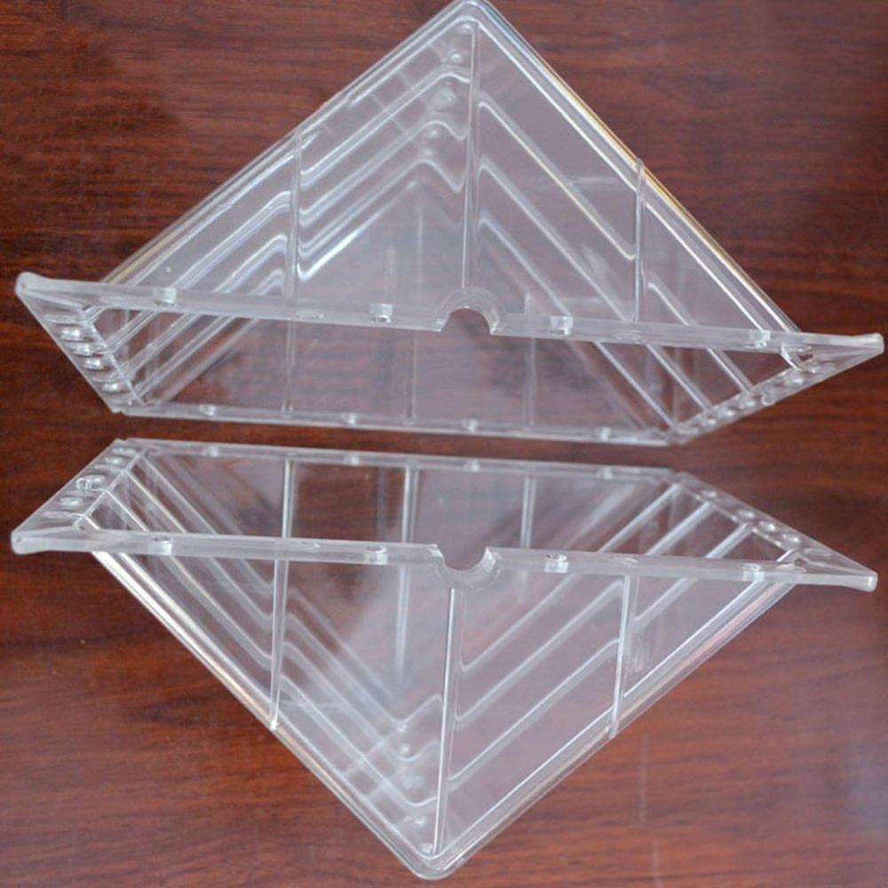 DIY High Quality Plastic Square(15*15*15cm) Garden Fruit Watermelon,Cantaloupe, Pumpkin Growth Forming Shaping Mold