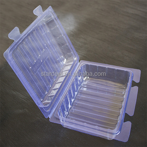Shenzhen wholesale high quality plastic clear plastic vaccine medical tray for vial plastic tray for pill