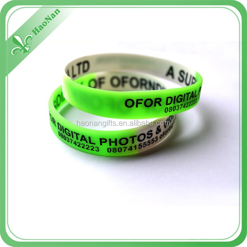 Factory wholesale fashionable pretty economical silicone wristband