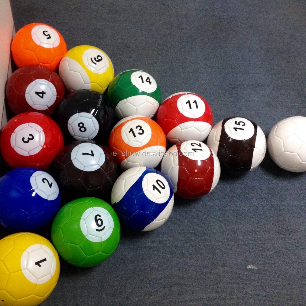 16 Balls Set Packing Footpool Balls For Snooker Soccer