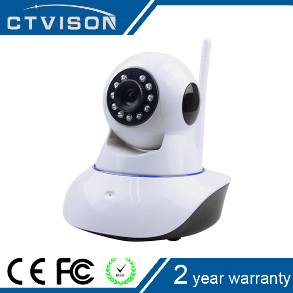 720P HD WiFi Pan/Tilt IP Camera (1.0 Megapixel) cctv Home Security Camera 1.3mp, Plug & Play, Two-Way Audio & Nightvision