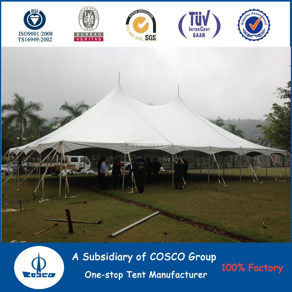 Hot Sale Custom White Stretch Tent For Outdoor Event