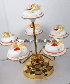 Weitu Brand New Design Decorative Cake Display Stand Metal Wedding Cake  Stand