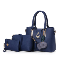 Newly designed set bag women bag 3 in1 set wholesale lady handbag