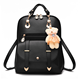 Designer Ladies Fancy College Bags Leather Backpacks For Girls