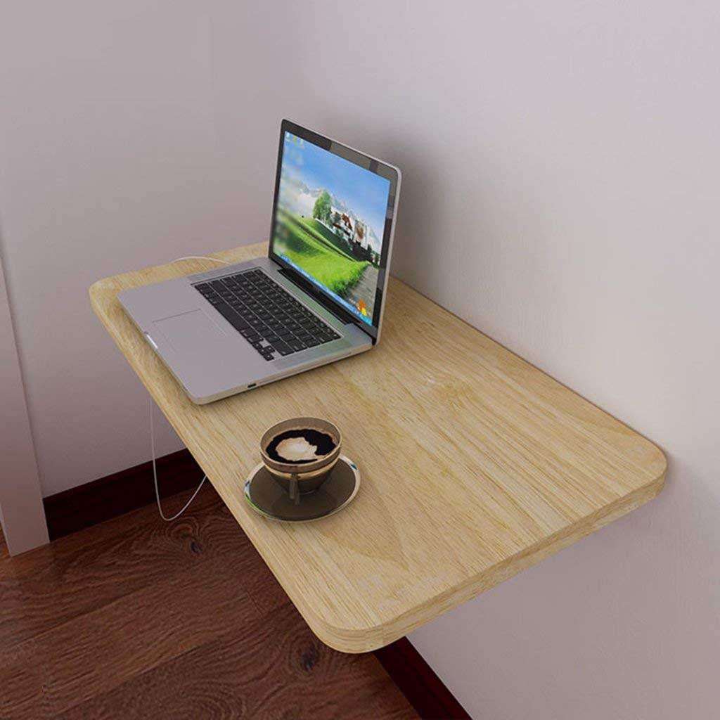 Mmdp Wall Hanging Folding Table Simple Corner Computer Desk Wall-mounted Side Table Simple Laptop Table