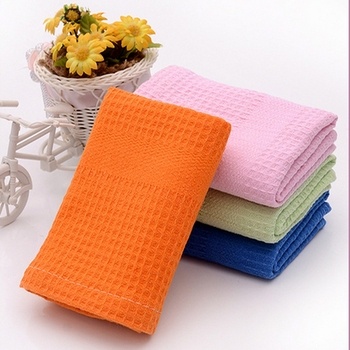 Wholesale Tea Towel Waffle Dish Towels Cotton Waffle Weave Kitchen