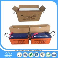 heat resistant round shape 12v deep cycle battery