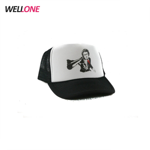 69cee139f96 China factory custom your logo OEM service silk screen printing two tone  color DIY promotion cap