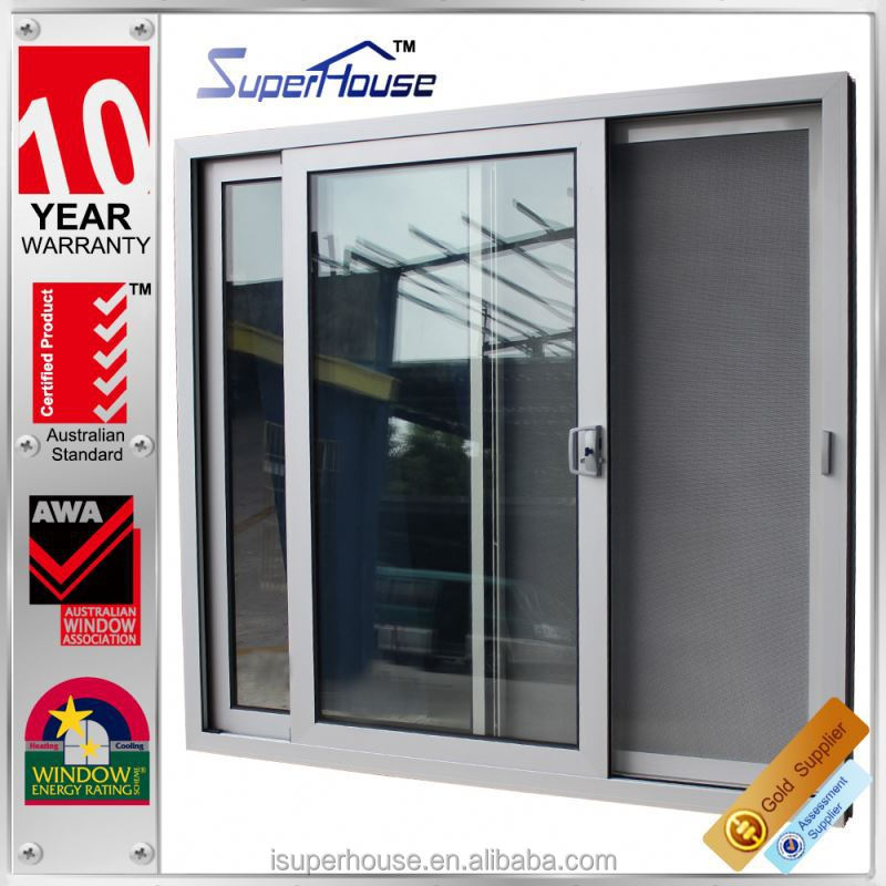Commercial AS2047 AS1288 AS2208 exterior glass panel doors powder coated aluminum sliding door