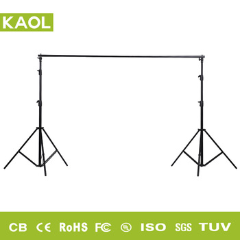 Cheap photo equipment background green screen backdrop stand kit